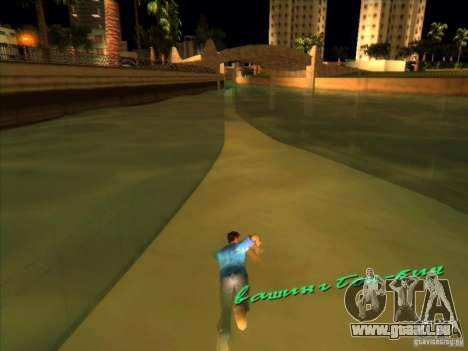 Schwimmen mit der neuen animation für GTA Vice City zweiten Screenshot