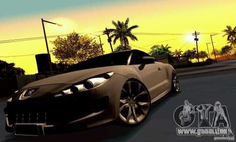 Peugeot Rcz 2011 pour GTA San Andreas roue