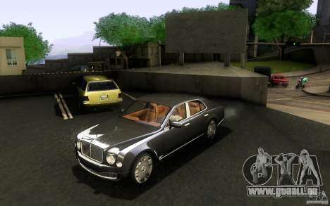 Bentley Mulsanne 2010 v1.0 für GTA San Andreas linke Ansicht