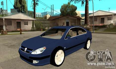 Peugeot 607 für GTA San Andreas