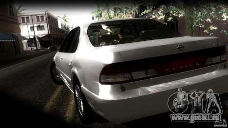 Nissan Cefiro A32 Kouki für GTA San Andreas Unteransicht