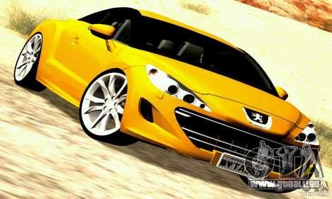 Peugeot Rcz 2011 für GTA San Andreas