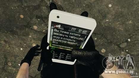Samsung Galaxy S2 pour GTA 4 sixième écran