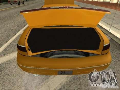Lincoln Mark VIII 1996 pour GTA San Andreas vue arrière