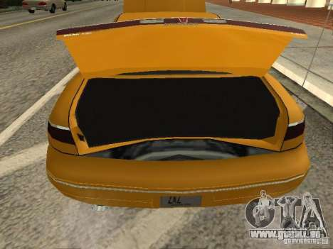 Lincoln Mark VIII 1996 für GTA San Andreas Rückansicht