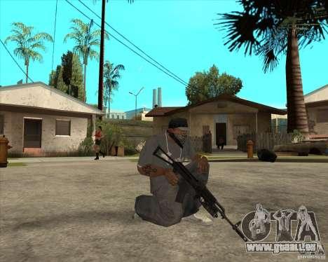 AKS-74 m avec GP-25 pour GTA San Andreas