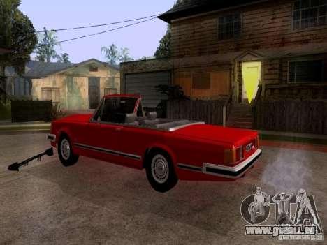 ZIL 41044 Phaeton pour GTA San Andreas sur la vue arrière gauche