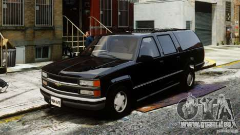 Chevrolet Suburban GMT400 v1.1 pour GTA 4