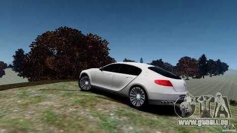 Bugatti Galibier 2009 für GTA 4 linke Ansicht