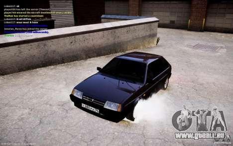 VAZ 2108 pour GTA 4 Vue arrière
