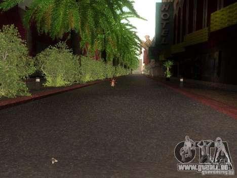 Modification Of The Road pour GTA San Andreas septième écran
