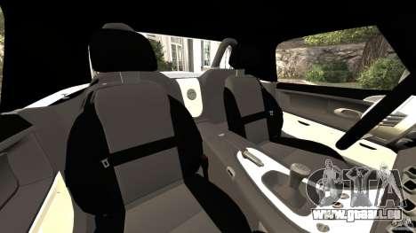 BMW Z8 2000 pour GTA 4 est une vue de l'intérieur