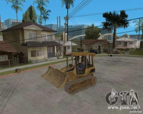Bulldozer aus COD 4 MW für GTA San Andreas Rückansicht