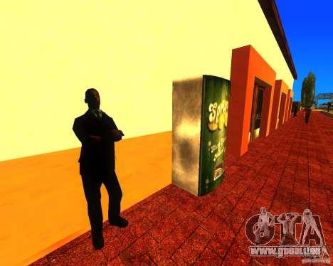 Einem belebten Bahnhof in Los Santos für GTA San Andreas dritten Screenshot