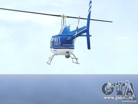 Bell 206 B - NYPD pour GTA 4 est une vue de dessous