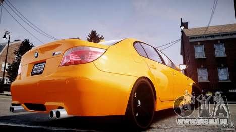 BMW M5 E60 für GTA 4 Seitenansicht