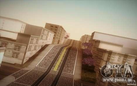 New roads San Fierro pour GTA San Andreas septième écran