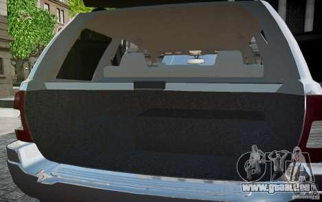 Jeep Grand Cheroke für GTA 4-Motor