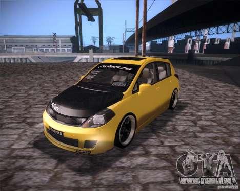 Nissan Versa Tuned für GTA San Andreas