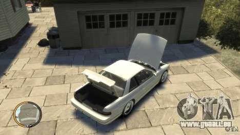 Nissan Silvia s13 Drifted v1.0 für GTA 4 rechte Ansicht