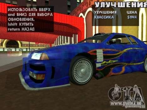 SA HQ Wheels pour GTA San Andreas huitième écran