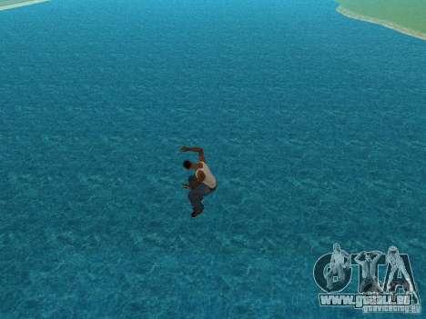 Eau de texture pour GTA San Andreas troisième écran