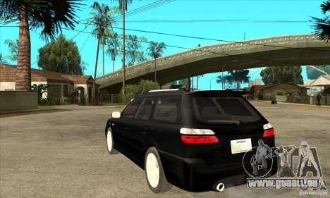 Subaru Legacy Station Wagon pour GTA San Andreas sur la vue arrière gauche