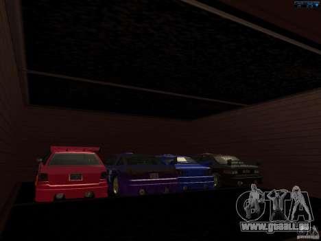 Nouveau garage à San Fierro pour GTA San Andreas deuxième écran