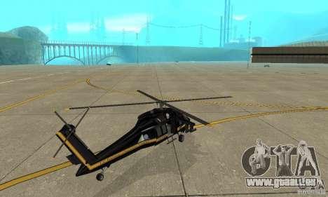 Annihilator pour GTA San Andreas sur la vue arrière gauche