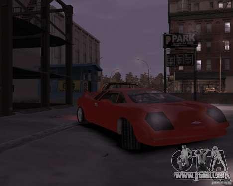 Infernus - Vice City pour GTA 4 est une gauche