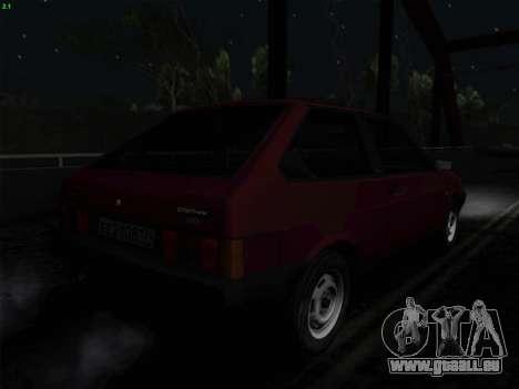 VAZ 21083i für GTA San Andreas obere Ansicht
