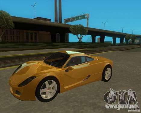Ginetta F400 für GTA San Andreas