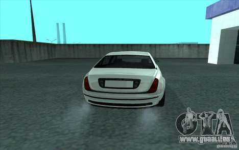 Cognoscneti von GTA 4 für GTA San Andreas zurück linke Ansicht