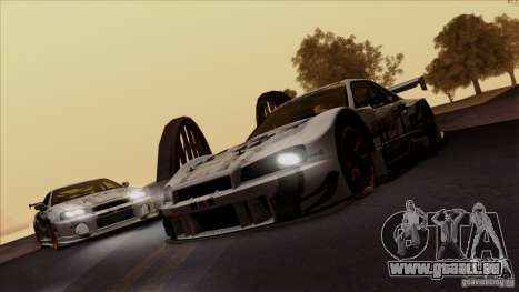 SA Beautiful Realistic Graphics 1.4 für GTA San Andreas her Screenshot