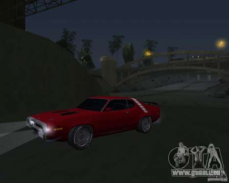 Plymouth Roadrunner für GTA San Andreas linke Ansicht