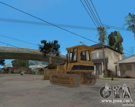 Bulldozer de COD 4 MW pour GTA San Andreas sur la vue arrière gauche