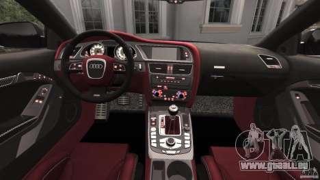 Audi RS5 2011 [EPM] pour GTA 4 Vue arrière