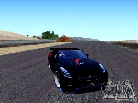 Nissan Skyline R35 Drift Tune pour GTA San Andreas