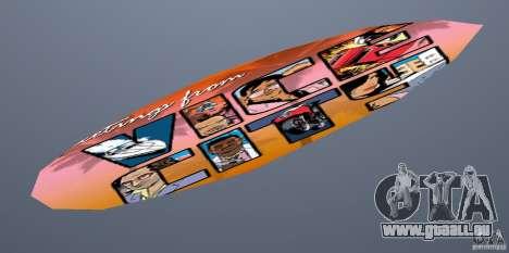 Surfboard 1 pour GTA Vice City