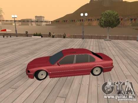 BMW 750iL e38 diplomate pour GTA San Andreas sur la vue arrière gauche