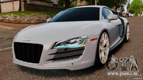 Audi R8 5.2 Stock 2012 Final pour GTA 4
