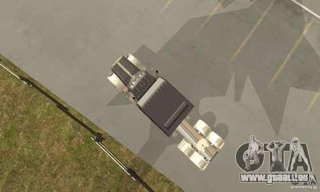 Peterbilt 379 Custom Legacy pour GTA San Andreas vue arrière