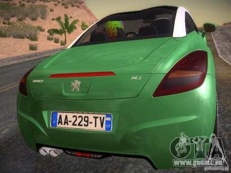 Peugeot RCZ 2010 für GTA San Andreas linke Ansicht