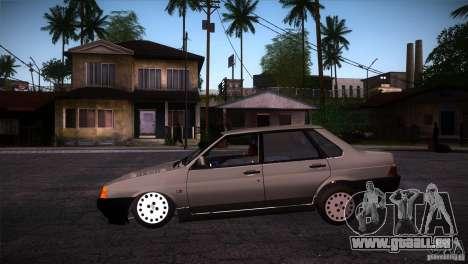 Fiat Regata pour GTA San Andreas laissé vue