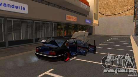 BMW E38 750LI pour GTA San Andreas vue de côté