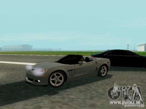 Chevrolet Corvette C6 GS Convertible 2012 für GTA San Andreas