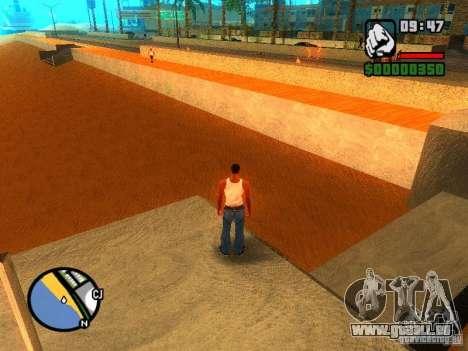 Textures de East Beach pour GTA San Andreas troisième écran