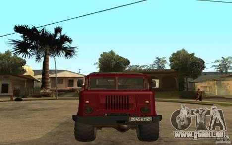 GAZ 66 pour GTA San Andreas vue de droite