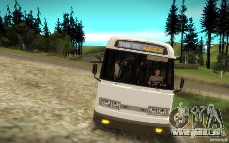 NFS Undercover Bus pour GTA San Andreas vue de droite