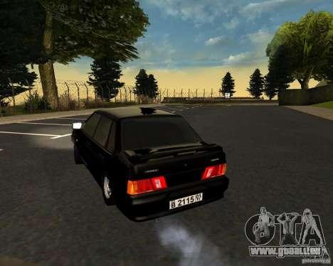VAZ 2115 TJK für GTA San Andreas rechten Ansicht